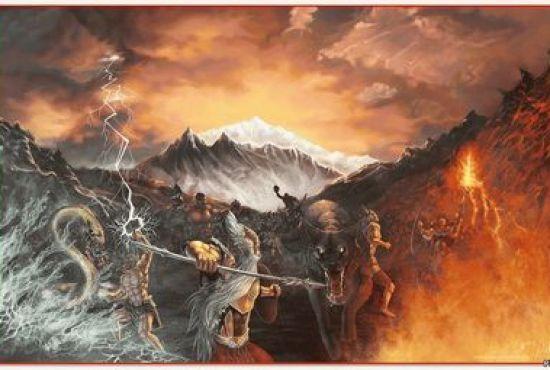 Конец света почти во всех мифах описан одинаково и самое интересное, что погубят человечество боги