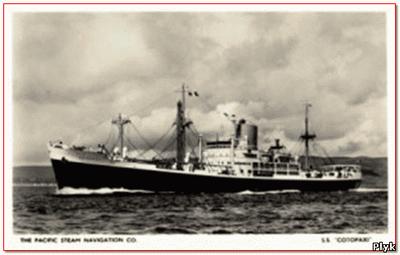 Бермудский треугольник SS. Cotopaxi