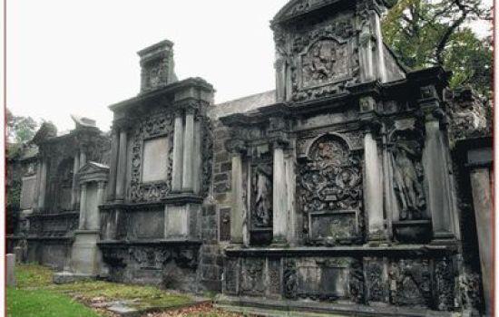 Кладбище Greyfriar с призраками