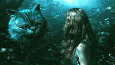 Алиса и кот во сне