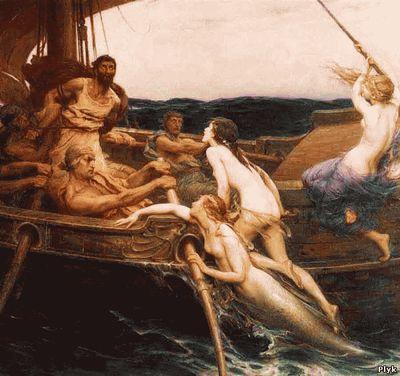 мифы о морских богинь