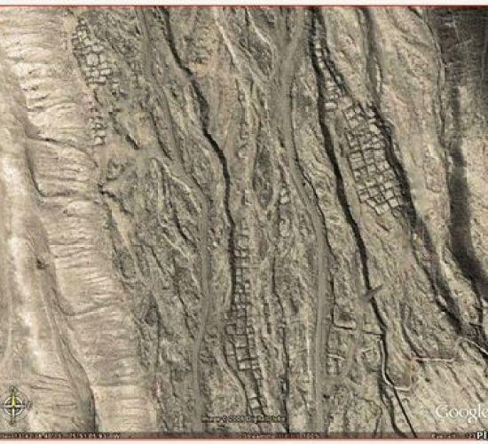 Остатки древнего города в Андах Карта Гугл