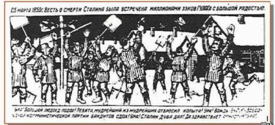 Заключенные ГУЛага – рисунки
