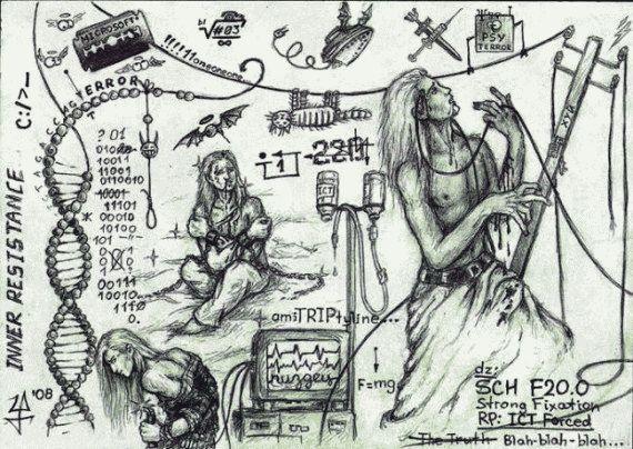 Рисунки людей с психическими отклонениями61