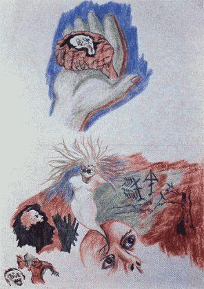 Рисунки людей с психическими отклонениями93