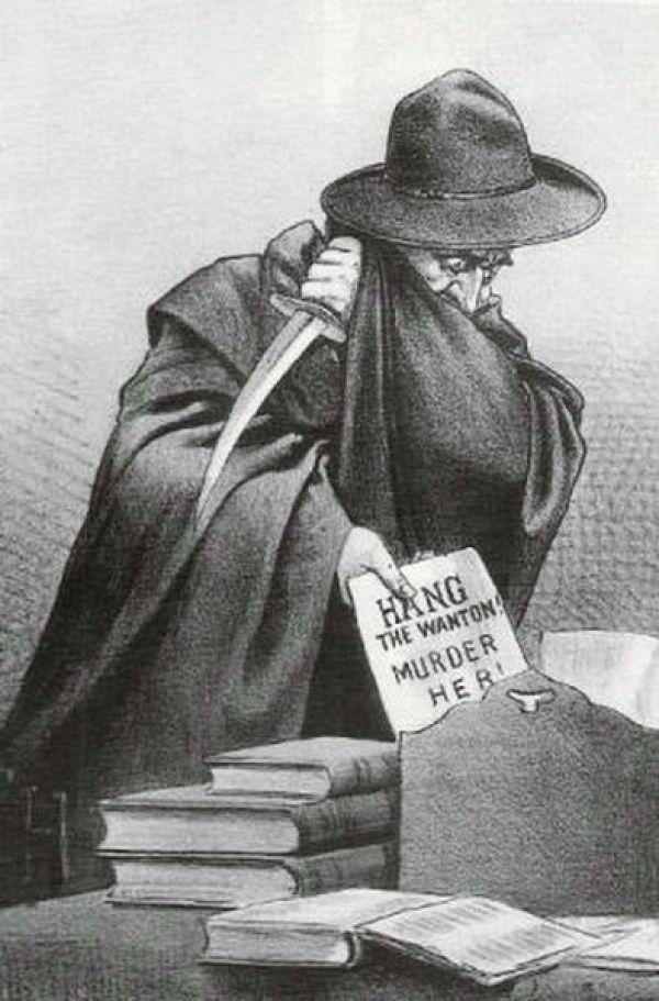 рисунок Джека Потрошителя