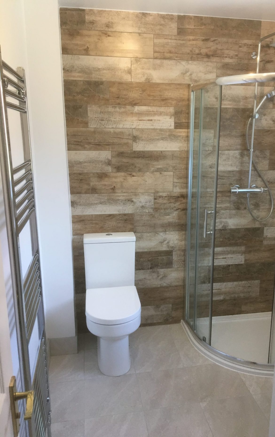 bathroom installation by A rated bathrooms