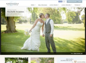 Photos by Miss Ann Featured in Borrowed and Blue Blog Webers Inn Ann Arbor Wedding