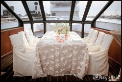 Infinity Yacht Wedding Reception Iceland Wedding Planner
