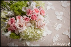 Michigan Wedding Planner Photos by Miss Ann Centerpeice Examples Lime Green and Pink