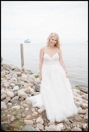 Photos by Miss Ann Dreamy Bridal Photos by the Water MI Wedding