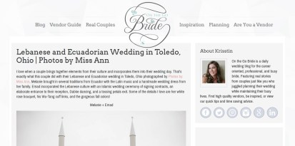 Photos by Miss Ann Featured On the Go Bride
