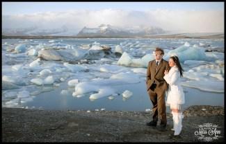 Iceland Wedding Jökulsárlón Glacier Lagoon Photos by Miss Ann
