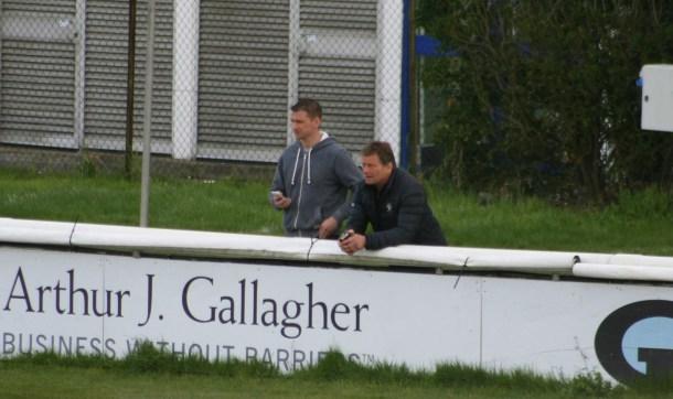 Graham Dawe and Simon Lane at Richmond last week