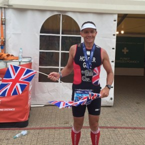Plymouth Tri Club's Holder wins silver medal at European Long Course Triathlon Champs