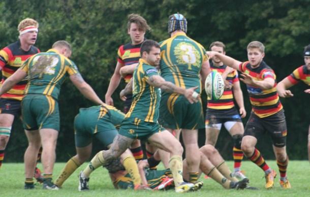 Plymstock Albion Oaks kick clear against Saltash