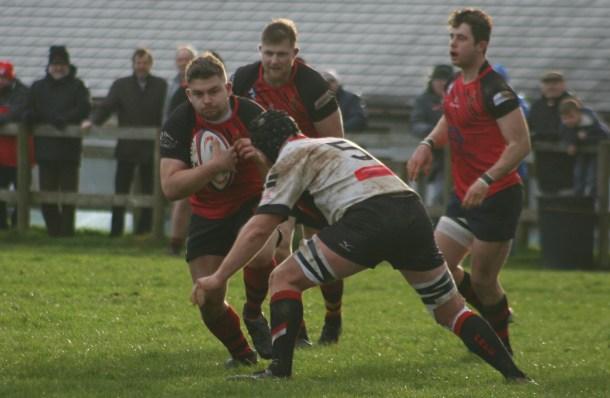 Tavistock on the attack against Penryn in the Cornwall/Devon League