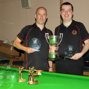 Plymouth billiards stars Brookshaw and Coumbe qualify for World Championships