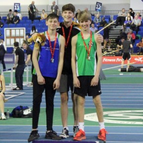Jones smashes his PB to win bronze medal at England U15 Champs