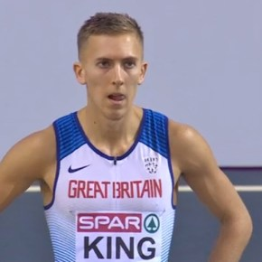 Plymouth's King retains his British indoor hurdles title in Glasgow