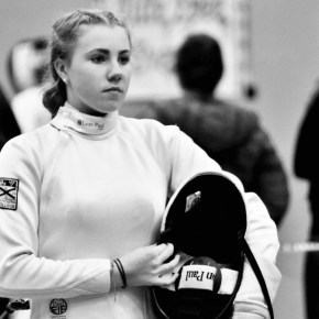 Plymouth College fencer Millie wins silver at second National Elite Junior Series event