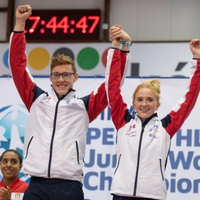 Pillage wins mixed relay medal at Junior World Championships in Poland
