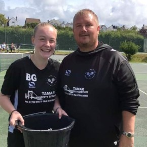 Plymouth tennis teen keen to get more girls into the sport