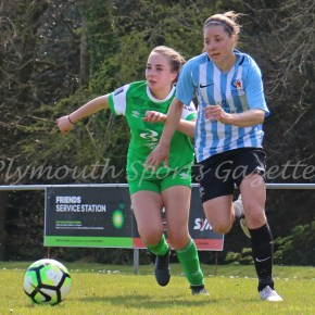 WOMEN'S FOOTBALL: Argyle get back to winning ways in Devon Senior Cup