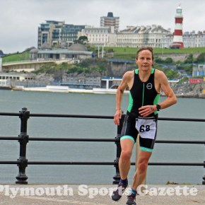 GALLERY: Haines and Ezra claim titles at Plymouth Triathlon