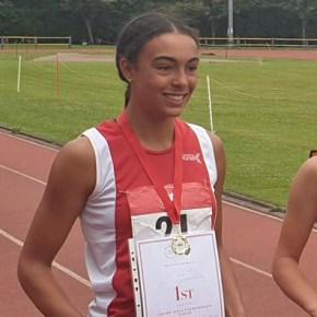 Region's athletes enjoy success at the English Schools' Track & Field Championships