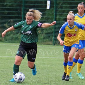 WOMEN'S FOOTBALL: Plymouth Argyle get off the mark in style at Keynsham