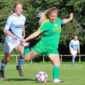 WOMEN'S FOOTBALL: Marine Academy get off the mark in style