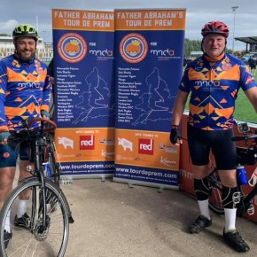 OPMs members hit the road on a cycling challenge in memory of Simon Adams
