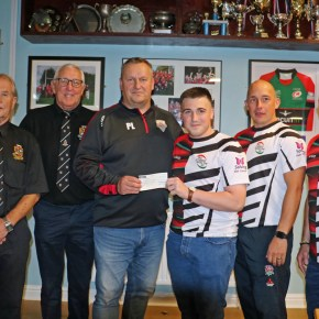 Thompson family thank Plymouth rugby community for all their support