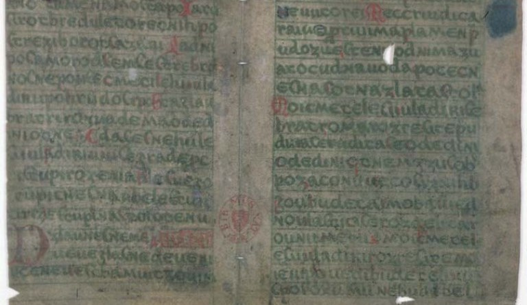 rukopis zelenohorský