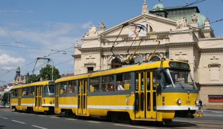 mikulášská tramvaj
