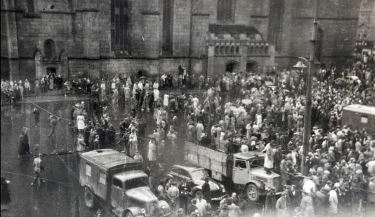 revolta v plzni 1953