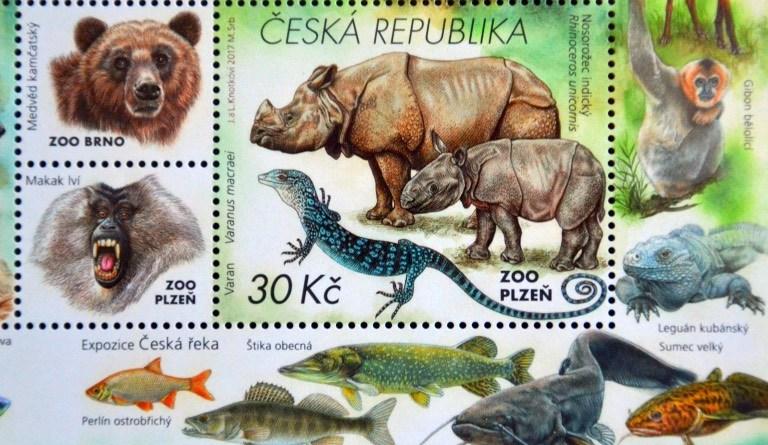 známka zoo plzeň
