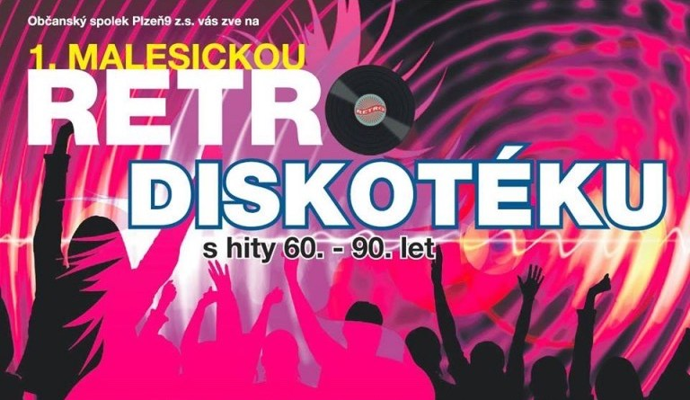 retro disko malesice