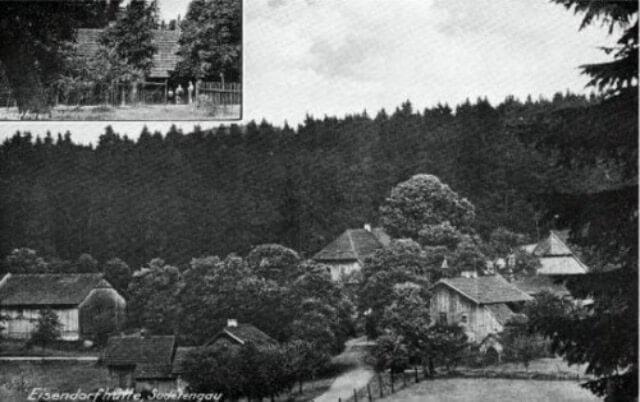 Zaniklá osada Eisendorfská Huť