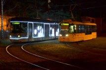 Vánoční tramvaj 2018