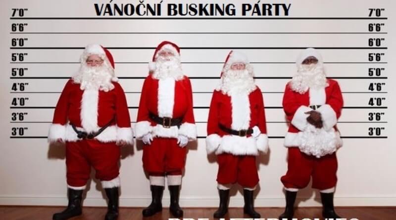 busking vánoce