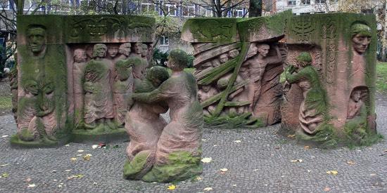 Skulptura na Rosenstrasse