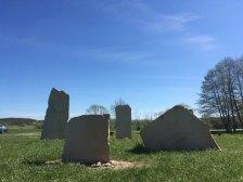 Geopunkturní kameny u Vstiše