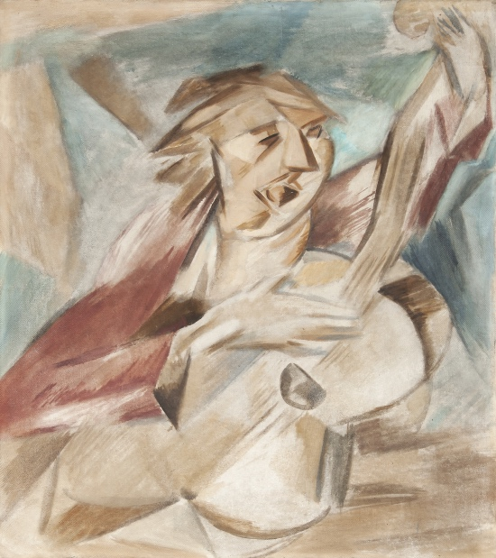 Emil Filla, Kytarista, 1912, Collett Prague – Munich