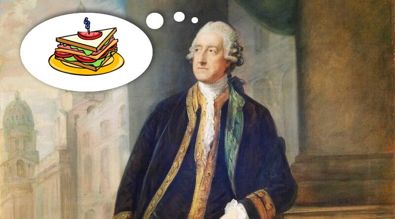 johm montagu myslí na sandwich