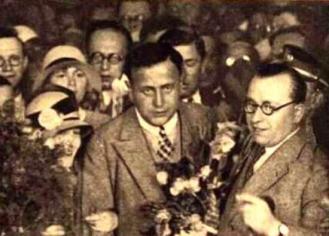 Běhounek v roce 1928 po návratu z expedice