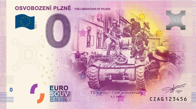 bankovka s motivem osvobození