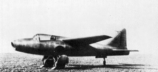 He 178 s proudovým motorem