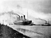 Titanic na dobové fotografii
